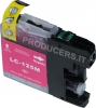 Cartuccia compatibile per Brother LC125XLM (16ml Magenta con chip)